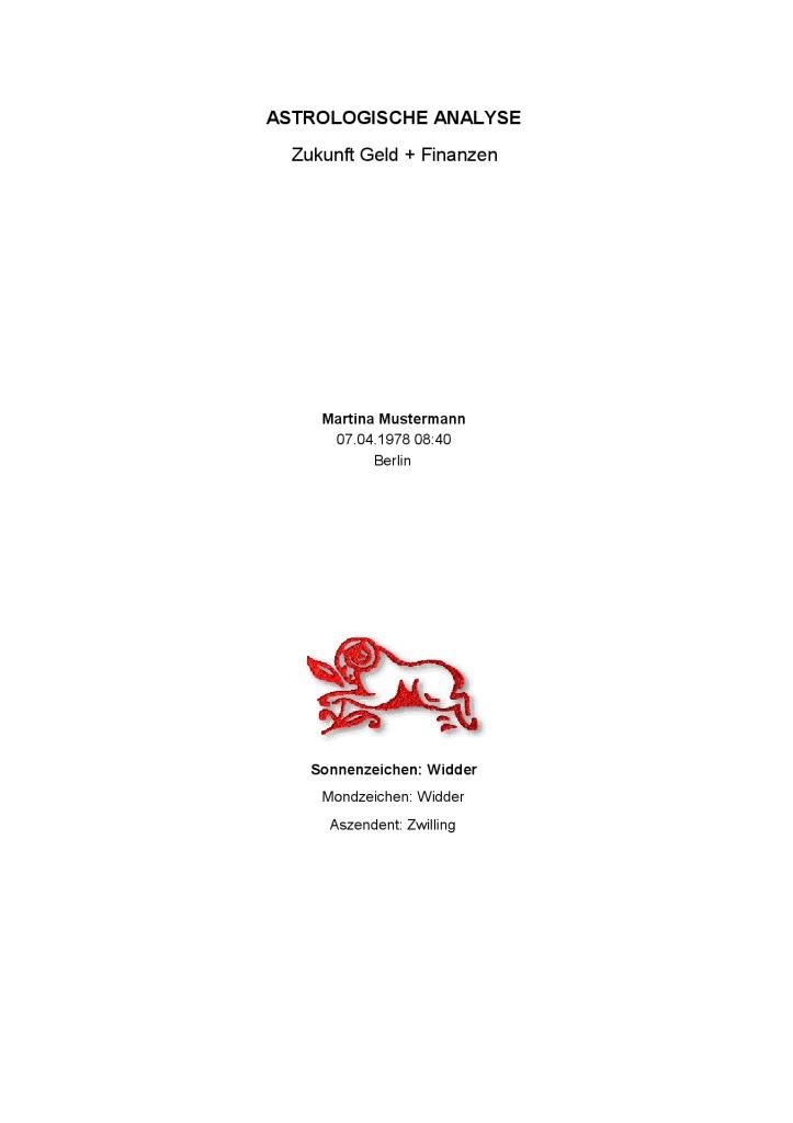thumbnail of Horoskop-kaufen-Zukunft-Geld-Finanzen-Martina-Mustermann